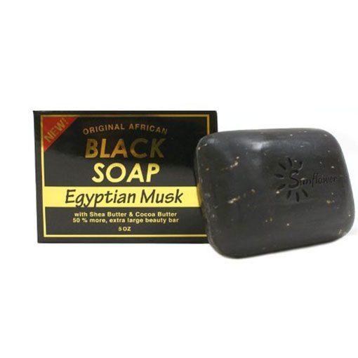 SUNFLOWER-SOAP-BLK-[EGYPTIAN-MUSK]