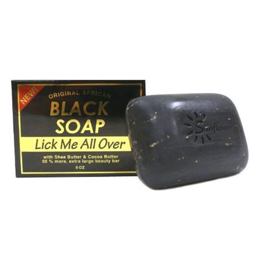 SUNFLOWER-SOAP-BLK-[LICK-ME-ALL-OVER