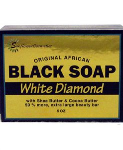 SUNFLOWER-SOAP-BLK-[WHITE-DIAMOND]