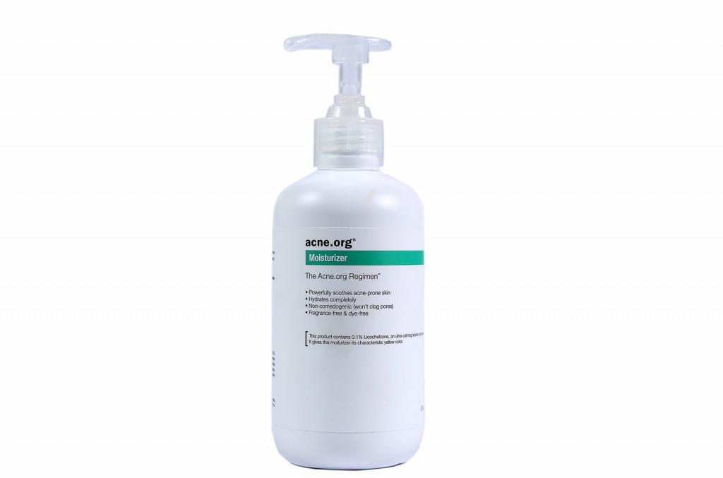 acne.org mosturizer