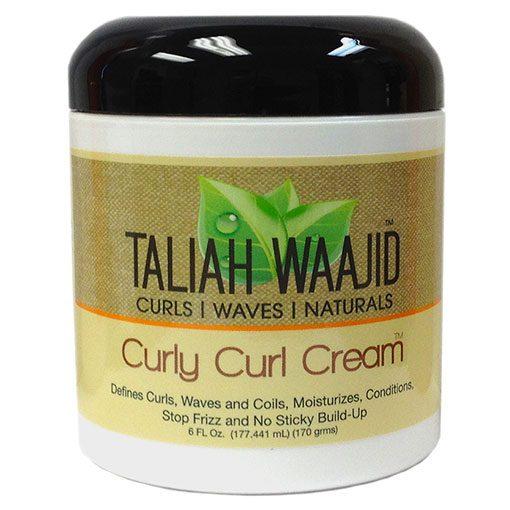 TALIAH-WAAJID-CURLS,-WAVES-&-NATURALS-CURLY-CURL-CREAM--6OZ