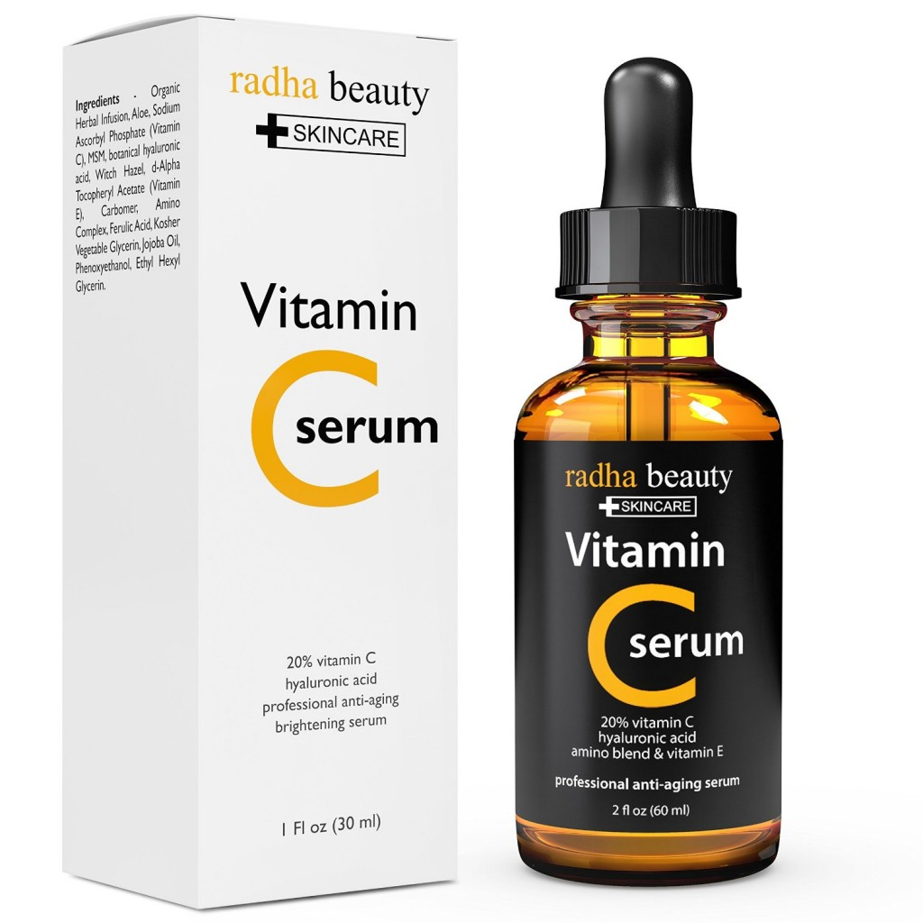 Body shop c vitamin serum